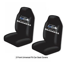 Northwest NFL Seattle Seahawks Car Truck 2 Front Bucket Seat Covers Set