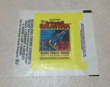 1978 Scanlens Battlestar Galactica - Wax Pack Wrapper