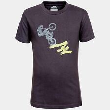 Trespass wheelspin Boys T-Shirt Size 3/4