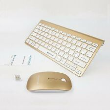 Wireless Mini Mouse and Keyboard for SAMSUNG PS64F8500AM SMART TV GD US