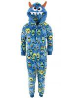 6L2 Choice Marvel DC Kids Sleeper Footed Pajamas Batman Spiderman Boys PJ/'s