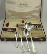 Ercuis modèle Contours/Victoria, belle ménagère 37 pièces, excellent état.