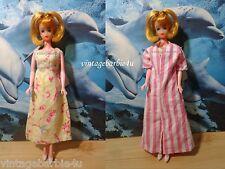 Vintage Robe & Nightgown Floral / Barbie Doll Miss Evergreen Babs BIld Lilli sz