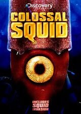 BRAND NEW DVD! // DISCOVERY CHANNEL // Colossal Squid  &  Squid Invasion