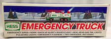 1996 Hess Toy Emergency Truck with Siren / Sounds & Lights - Brand New in Box