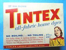 Tintex Seal Brown Fabric Clothes Dye