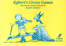 Egberts Circus Games for violin Sheet Music Book Mary Cohen shop Soiled