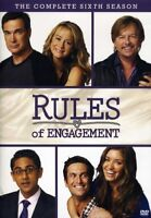 Rules of Engagement the Complete Sixth Season [New DVD] Manufactured On Demand