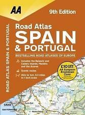 Road Atlas Espagne & Portugal par AA Publishing (Spiral Bound, 2017)