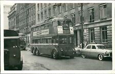 Trolley Bus 611 Highgate Village.  Crawford's Cream Crackers   RH.232