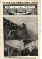 1902 Mail & Express March 1 - Prince Henry Arrives; Park Ave Fire; Blizzard