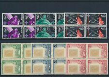 LM93205 Malta Elizabeth II first stamp anniversary fine lot MNH