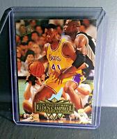 1995-96 Elden Campbell Fleer Ultra #86 Basketball Card