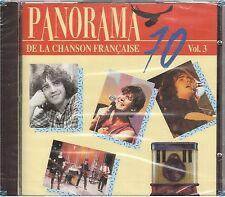 PANORAMA DE LA CHANSON FRANCAISE 70 vol 3 CD (421) clerc telephone higelin ..