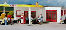 PIKO HO Scale Shell Gas Station Building Kit # 61832  New in box