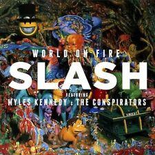 SLASH - WORLD ON FIRE - CD SIGILLATO 2014