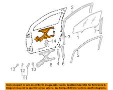 TOYOTA OEM 98-03 Sienna Front Door-Window Regulator 6980208010