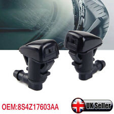 FOR 2008-2011 FORD FOCUS MIST FRONT WINDSCREEN WATER NOZZLES WASHER JETS SPRAY