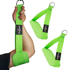 Bauchmuskelschlaufen Bauchtrainingsschlaufen, Gut-Blaster-Slings Neongrün