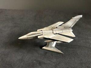 Royal Hampshire  Metal Pewter Aeroplane Royal Hampshire Tornado