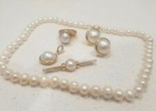 Gold Pearl Fine Jewellery Sets