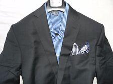 NWT CALVIN KLEIN Men's Gray Two Button Slim-Fit Suit 44R  38W DUAL VENT