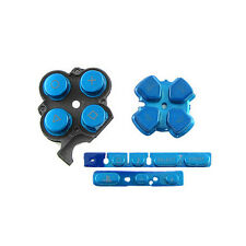 Blue Buttons Key Pad Set Repair Replacement for Sony PSP 3000 Slim Console
