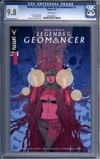 Book of Death: Legends of the Geomancer #1   Valiant  1st print    CGC 9.8