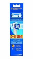 BRAUN ORAL-B PRECISION CLEAN 2+1 REPLACEMENT BRUSH HEADS