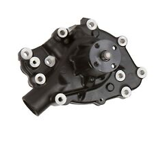 Black Small Block Ford 289 302 351W Mechanical Water Pump, High Flow, Clockwise