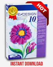 Brother Pe Design 10 | Embroidery Full Software 2021 ✅ Free Gifts 🔥 10s Delivry