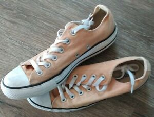 Chuck Taylor All Star Ox Low Canvas Shoes Peach Women's 9 Mens 7