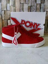 Mens Red Sz12 Pony Classic Hightop Sneaker