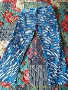 Men's Snazzy Slazenger Blue Golf Trousers (36)