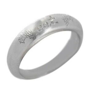 HSN Robin By Me&Ro White Gold GP Stackable Eat Band Ring Size 9 $80