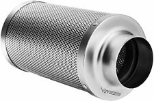 "Vivosun 4"" inch Air Carbon Filter Odor Control w/ Virgin Charcoal for Inline Fan"