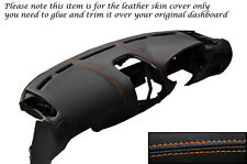 ORANGE STITCH DASH DASHBOARD LEATHER SKIN COVER FITS MITSUBISHI FTO 1994-2001