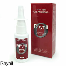RHYNIL - Extra Strong Anti-Snoring Herbal Sinus SPRAY FORMULA - FREE UK P&P!