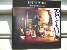 Peter Wolf signed cd Midnight Souvenirs lead singer  of J.Geils band autographed