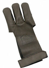 OMP Mountain Man Leather Shooting Glove - Brown Large