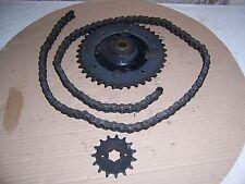 Kettensatz 15-39 XT 550 Ruckdämpfer Aufnahme Kettenrad Platte O-Ring Kette