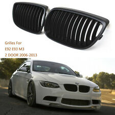 Sport style Front Kidney Grille Grill For BMW E92 E93 M3 328i 335i 2DR 2006-2013