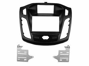 Double Din Fascia for Ford Focus C-Max Radio Dash Installation Trim Kit Frame