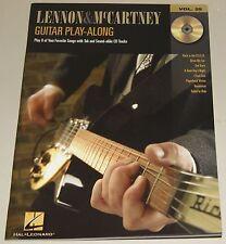 Lennon & McCartney The Beatles Guitar Play-Along Vol.25 Gitarre Notenbuch CD NEU