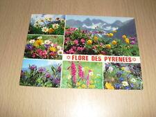 CP Carte Postale Fleurs Pyrénées multi-vues