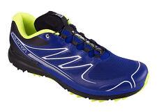 Zapatos Running Del Deporte de Hombre Salomon Sense Pro , Profeel, Azul Oscuro