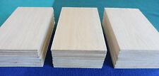 5 Stück BALSA Holz Platten 175 x 100 x 5 mm Postkartengröße Balsaholz Brettchen
