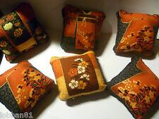 Japanese Kimono Pin Cushion & matching velvet reverse in organza gift bag New