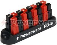Powerwerx PD-8 8 Position Power Distribution Block for 15/30/45A Powerpole Conn.