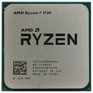 AMD Ryzen 7 1700 3.7GHz Turbo 8-Core Processor Socket AM4 CPU